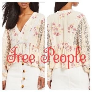 Free People | Boogie All Night Balloon Sleeve Top